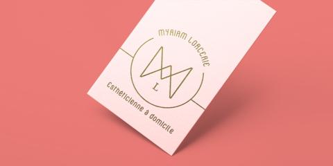 myriam lorcerie logo home