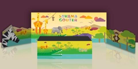 savana gouter stand