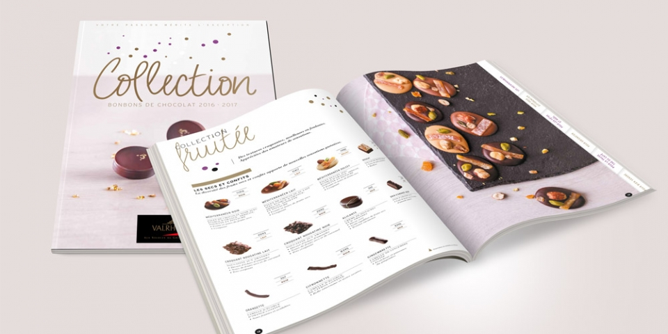 Catalogue Bonbons de chocolat 2016
